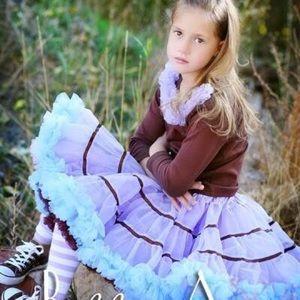 ✨NWT Small Pettiskirt, Tutu, Dance Skirt, LS Set